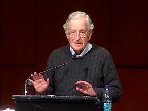 Noam Chomsky – US Israeli Crimes Against Palestine
