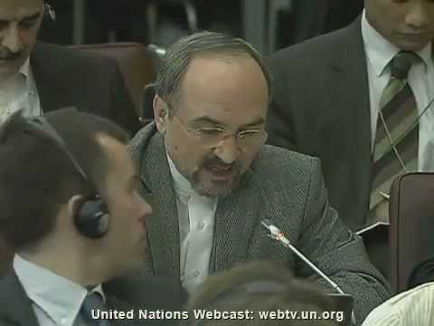 Iranian Ambassador Blocks Adoption of UN Arms Trade Treaty