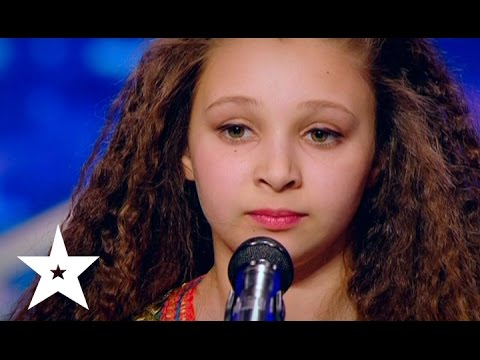 Little Girl Performs Moroccan Dance at Ukraine's Got Talent