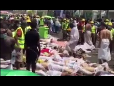 Video: Mecca Stampede Kills 717 People, Leaves 863 injured