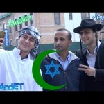 Muslim & Jew Walk Together in Jewish Neighborhood in New York: Social Experiment