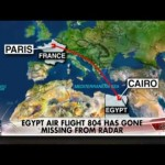 Video: Egyptair Plane From Paris Crushes with 69 Passengers on Board