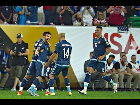 Video: Argentina vs United States 4-0